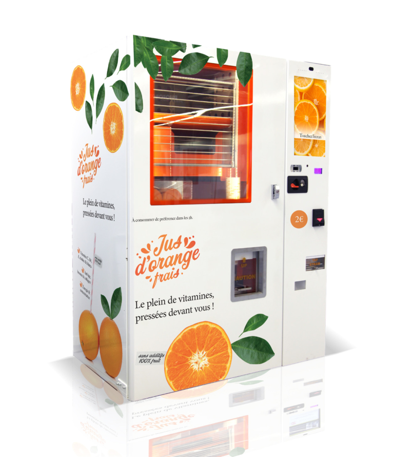machine jus d'orange